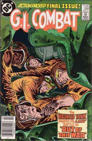 G.I. Combat (1952) 288-A by DC