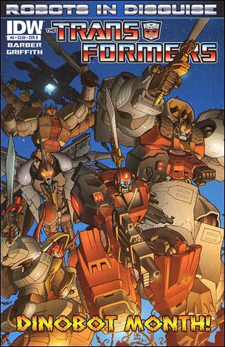 Transformers: Robots in Disguise 8-B by IDW