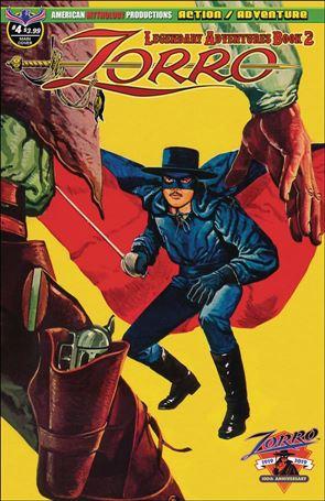 Zorro: Legendary Adventures Book 2 4-A