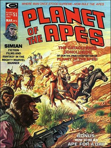 Planet of the Apes (1974) 6-A by Marvel