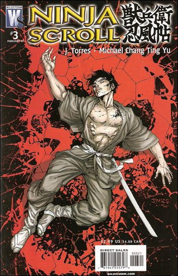 Ninja Scroll 3-B by WildStorm