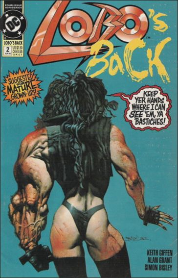 Lobo's Back 2-A by DC