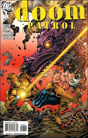 Doom Patrol (2009) 8-A by DC