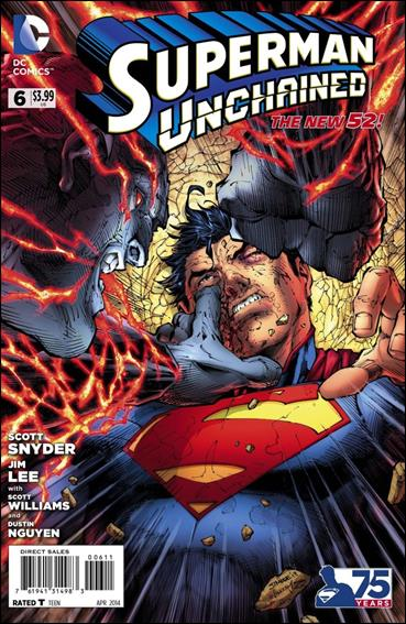 Superman Unchained 6-A by DC