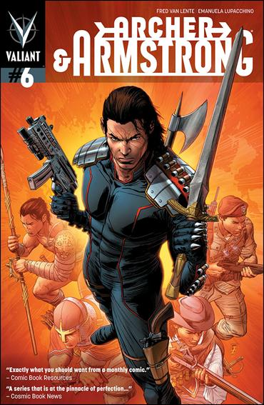 Archer & Armstrong (2012) 6-B by Valiant Entertainment