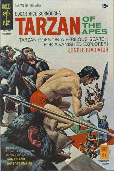 Tarzan (1962) 195-A by Gold Key