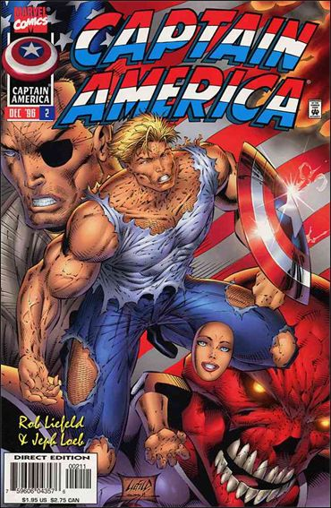 Captain America (1996) 2-A by Marvel
