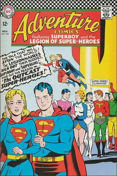 Adventure Comics (1938) 350-A by DC