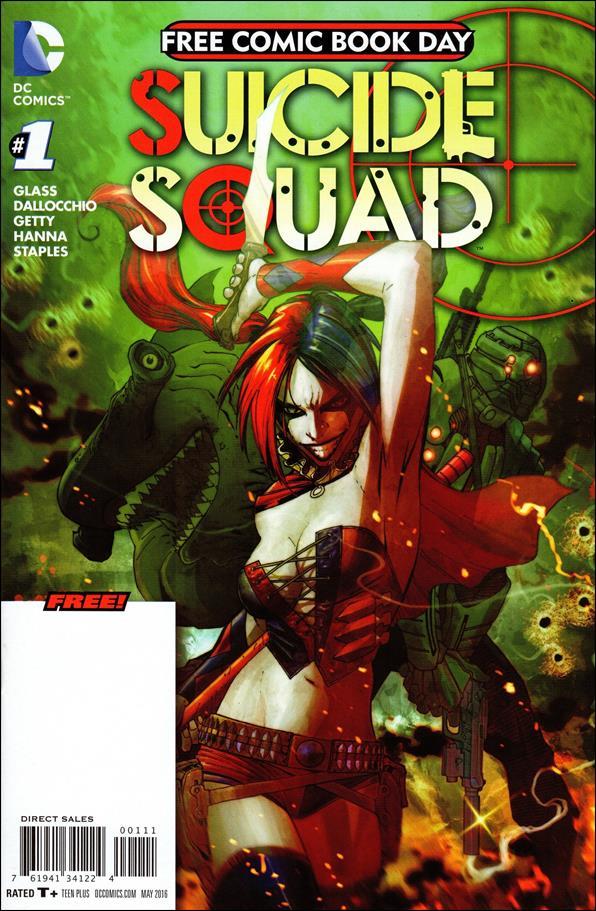 Suicide Squad (2011) 1-C by DC