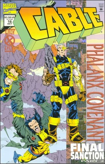 Cable (1993) 16-A by Marvel