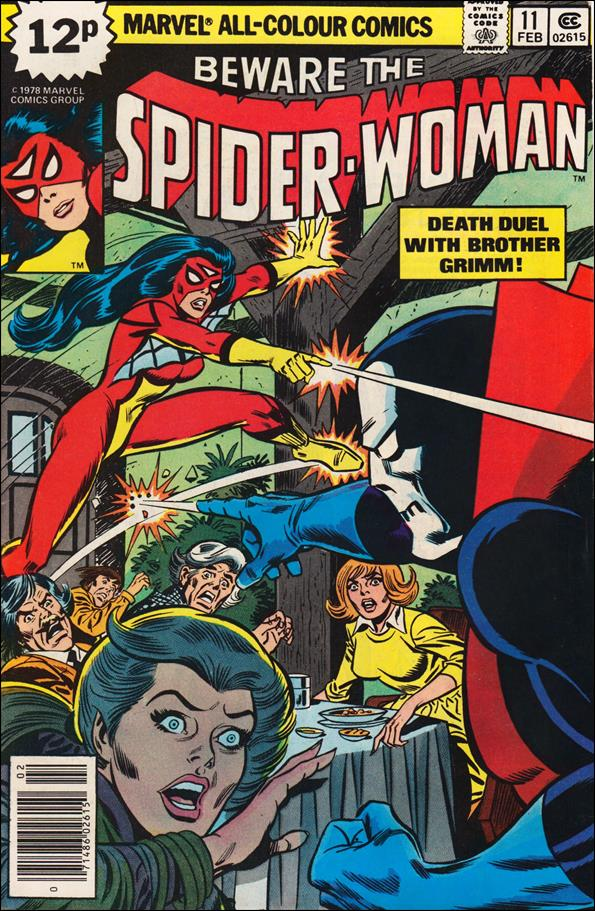 Spider-Woman (1978) 11-B by Marvel