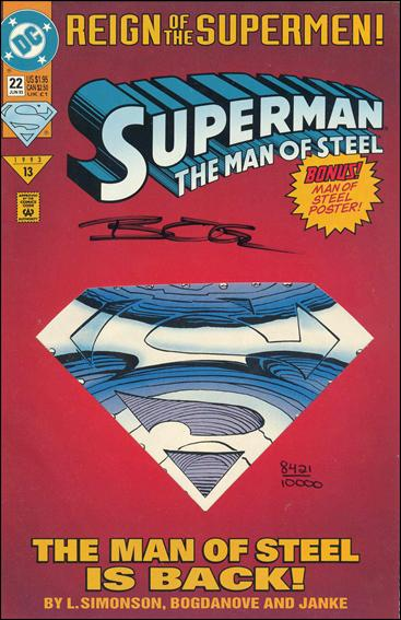 Superman: The Man of Steel 22-C by DC