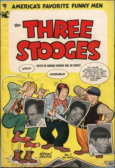 Three Stooges (1953) 7-A by St. John