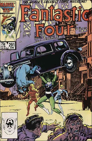Fantastic Four (1961) 291-A by Marvel