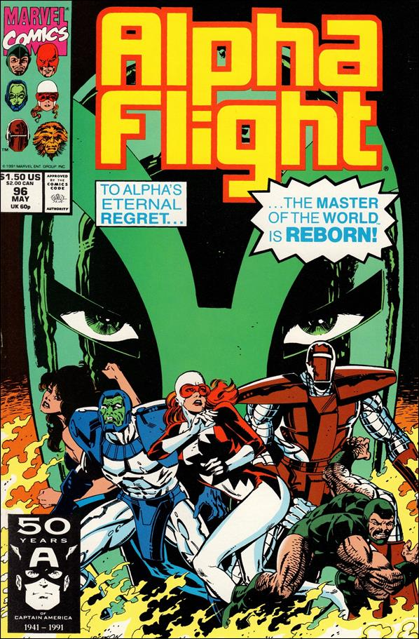 Alpha Flight (1983) 96-A by Marvel