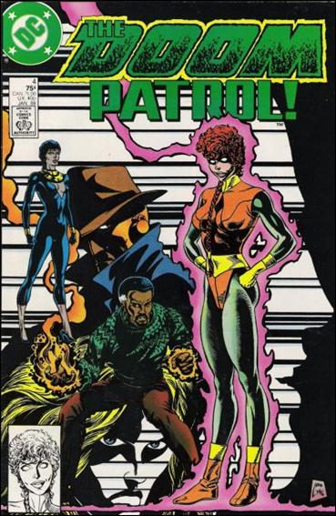 Doom Patrol (1987) 4-A by Vertigo