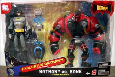 Batman (Target 2-Packs) Batman vs Bane by Mattel
