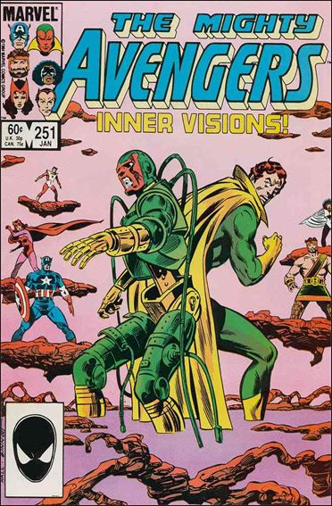 Avengers (1963) 251-A by Marvel
