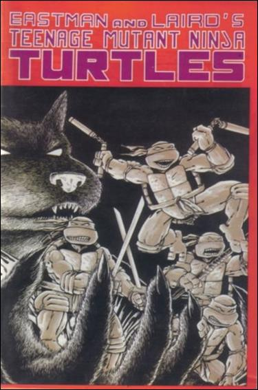 Teenage Mutant Ninja Turtles (1984) 1-E by Mirage