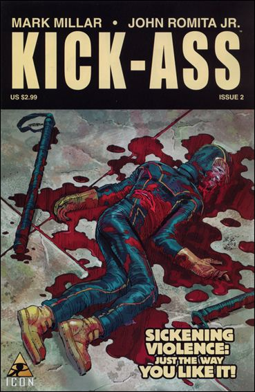 Kick-Ass (2008) 2-A by Icon