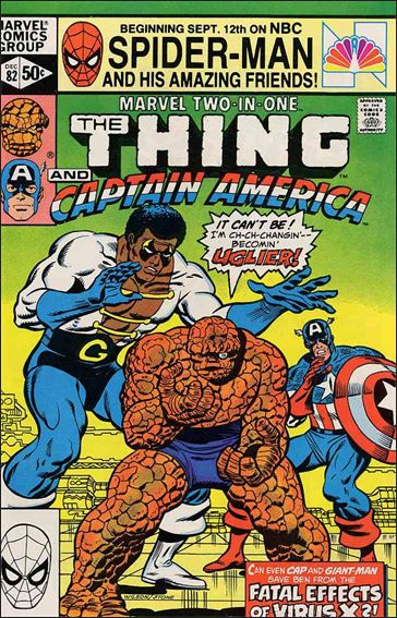 Marvel Two-in-One (1974) 82-A by Marvel