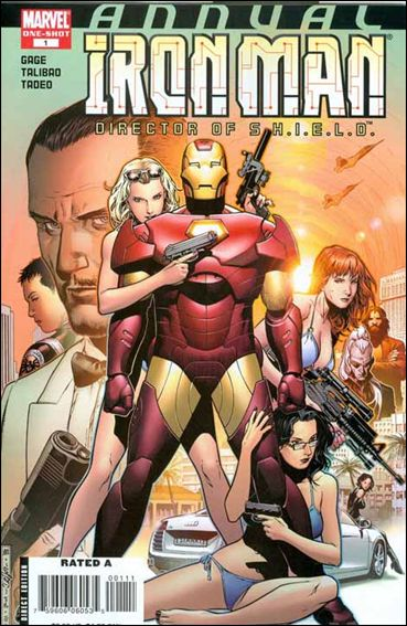 Iron Man: Director of S.H.I.E.L.D. Annual 1-A by Marvel