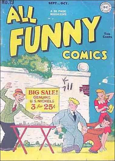 All Funny Comics 19-A by DC