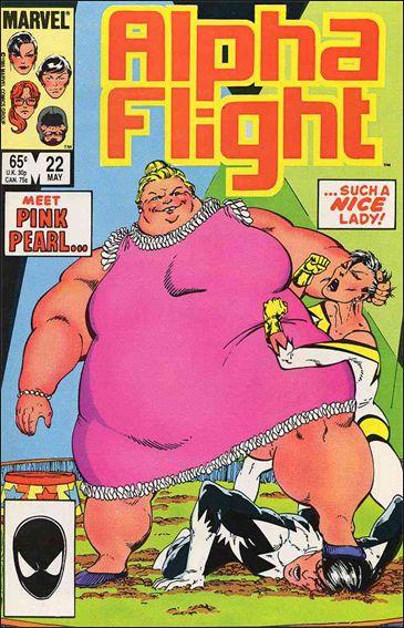 Alpha Flight (1983) 22-A by Marvel