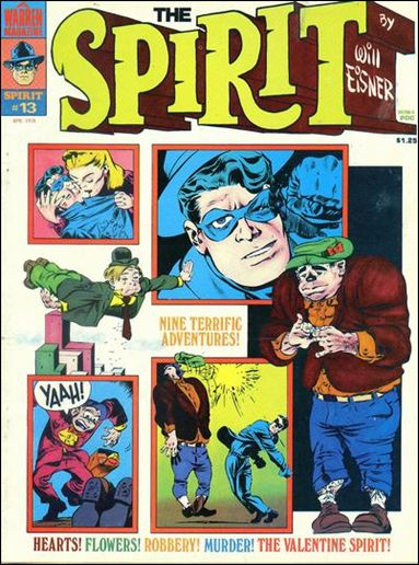 Spirit (1974) 13-A by Kitchen Sink