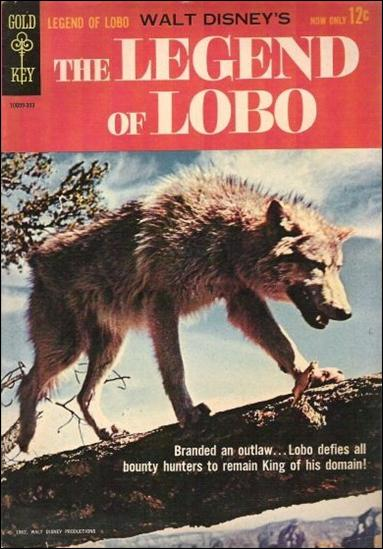 Walt Disney's The Legend of Lobo 1-A by Gold Key