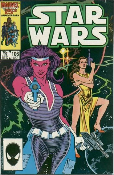 Star Wars (1977) 106-A by Marvel