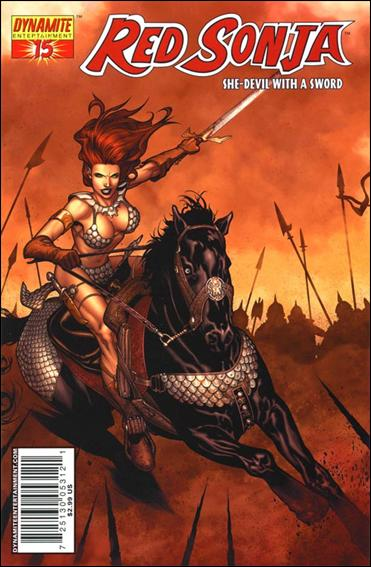 Red Sonja (2005) 15-A by Dynamite Entertainment