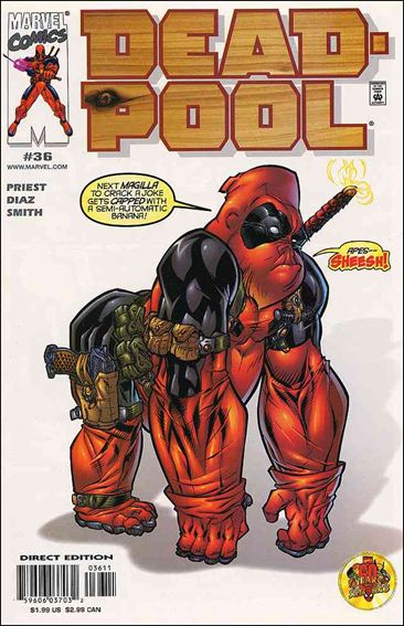 Deadpool (1997) 36-A by Marvel