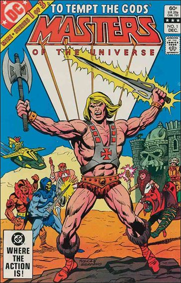 Masters of the Universe (1982) 1-A by DC