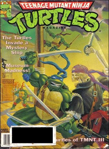 Teenage Mutant Ninja Turtles Magazine 12-A by Welsh Publishing Group