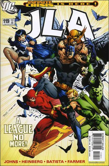 JLA 119-A by DC
