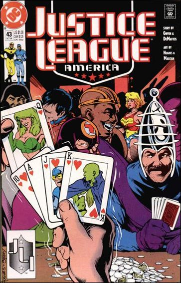 Justice League America 43-A by DC
