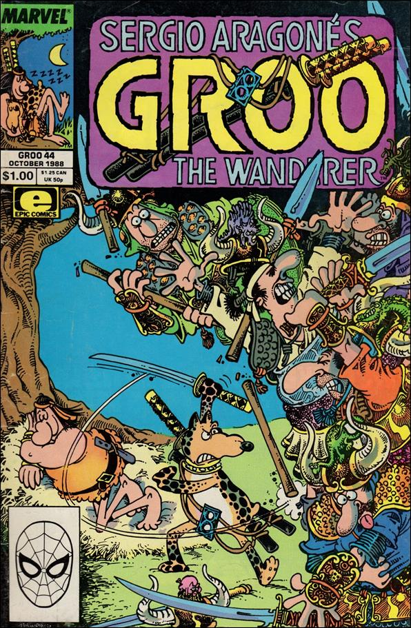Sergio Aragones Groo the Wanderer 44-A by Epic