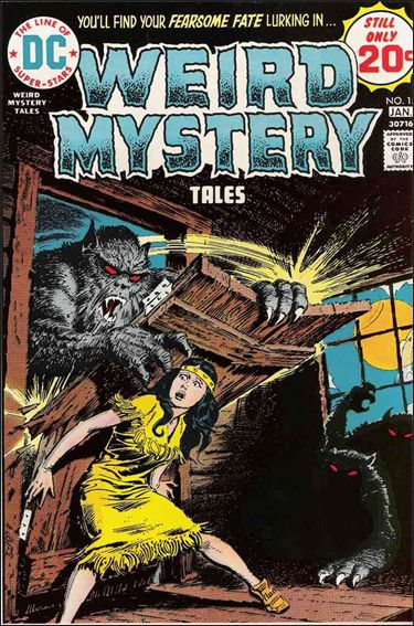 Weird Mystery Tales (1972) 15-A by DC
