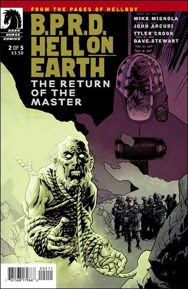 B.P.R.D. Hell on Earth: Return of the Master 2-A by Dark Horse