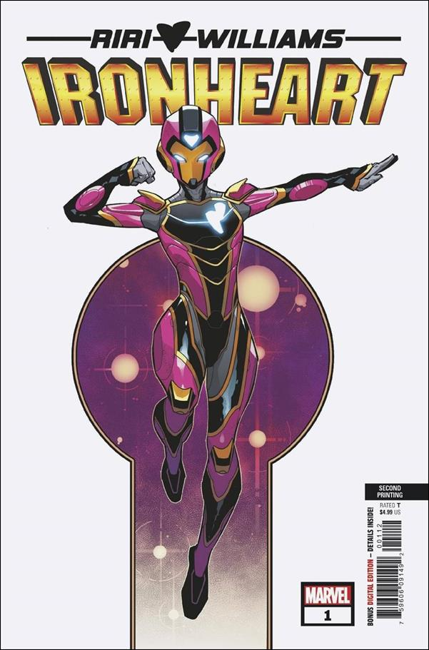 Ironheart 1-H by Marvel