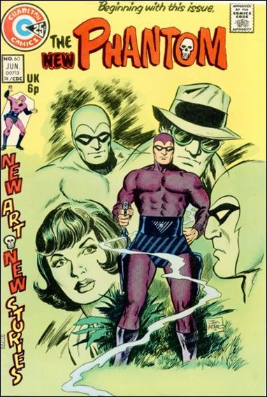 Phantom (1962) 60-A by Gold Key