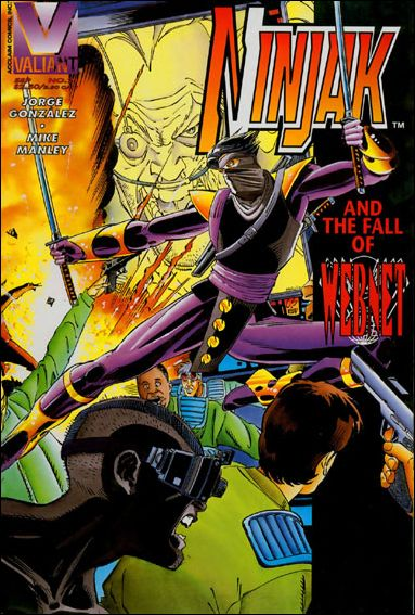 Ninjak (1994) 21-A by Valiant