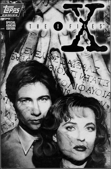 X-Files Ashcan 1-A by Topps