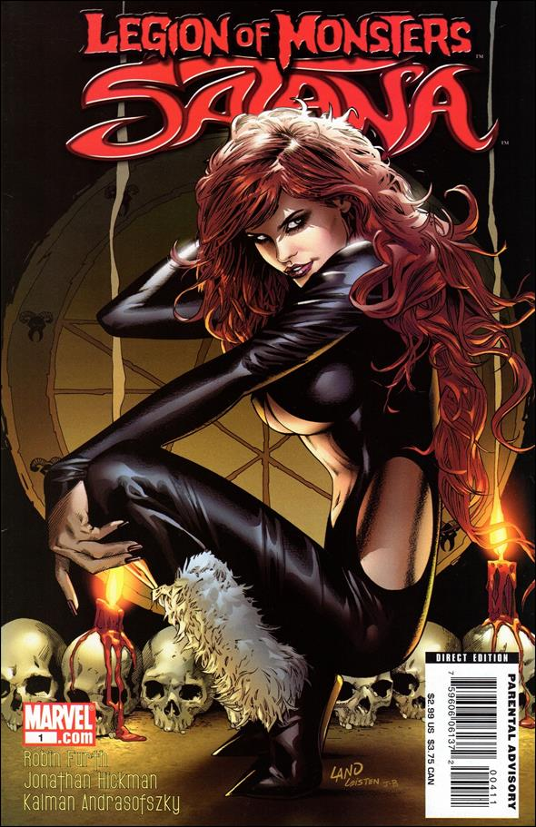 Legion of Monsters: Satana 1-A by Marvel