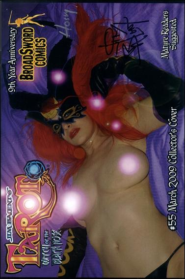 Tarot: Witch of the Black Rose 55-C by BroadSword Comics