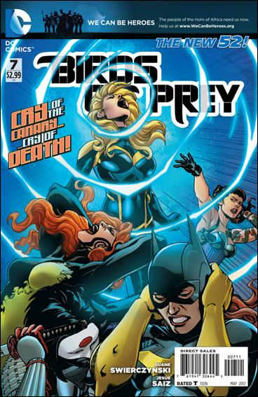 Birds of Prey (2011) 7-A by DC