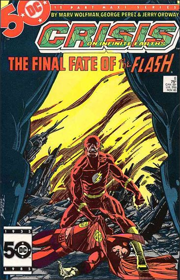 Crisis on Infinite Earths 8-A by DC