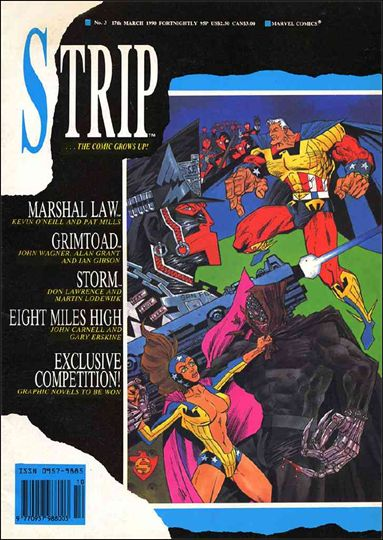 Strip 3-A by Marvel UK