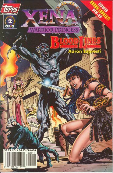 Xena: Warrior Princess: Bloodlines 2-A by Topps